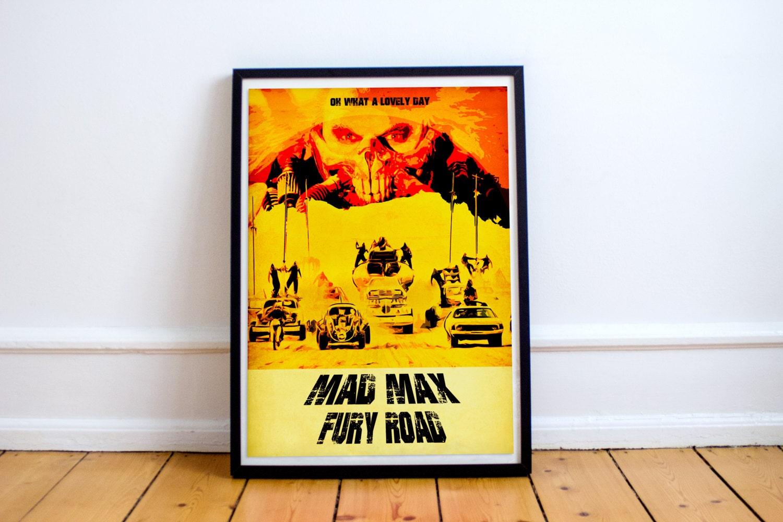 Mad Max Fury Road Poster Movie Poster Wall Art Immortan