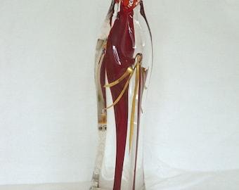 Vintage Murano Glass Madonna/Virgin Mary