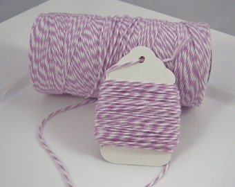 FULL SPOOL - Bakers Twine - The Twinery - 100% Cotton  - Orchid - 240 Yards