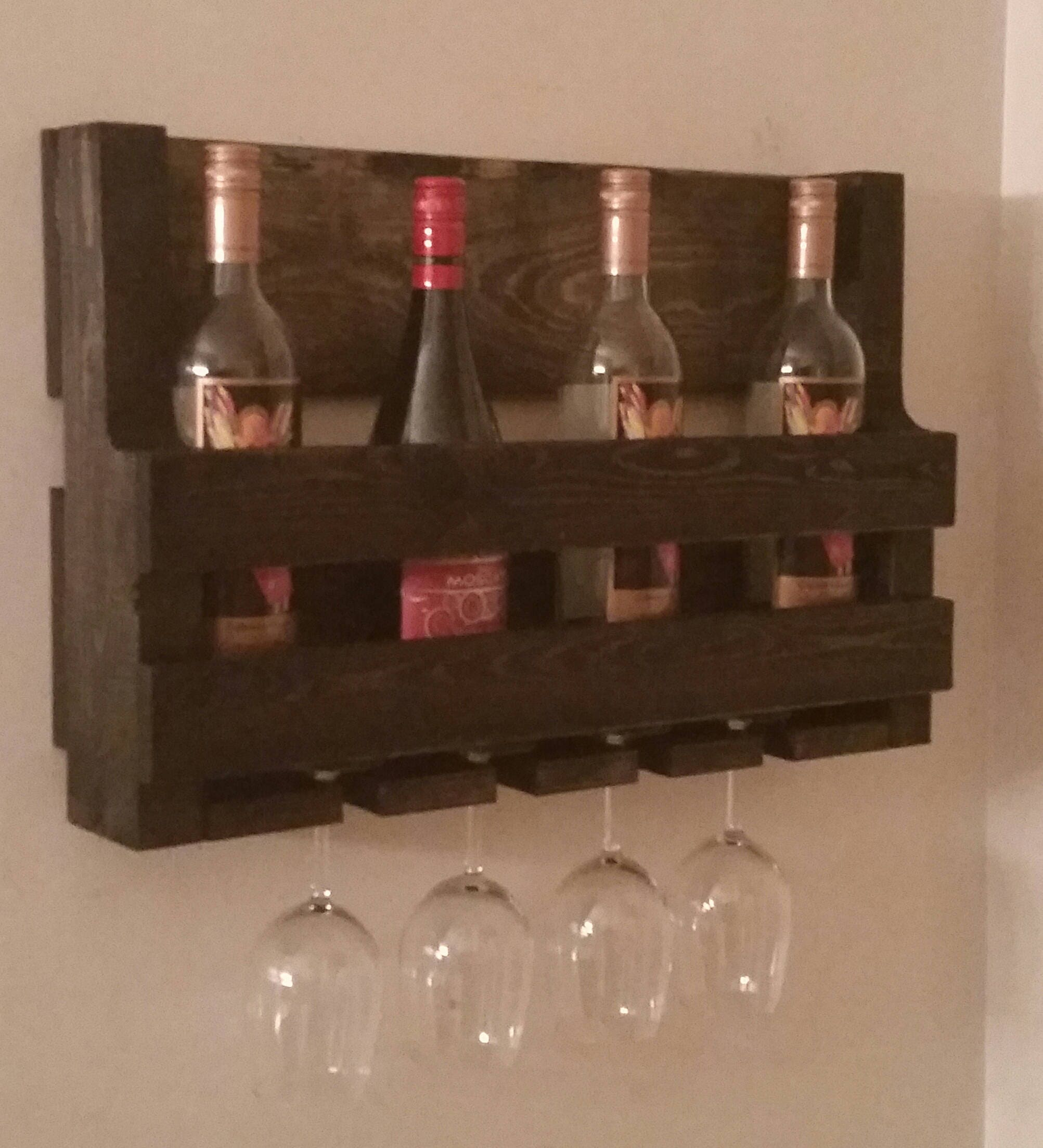 rustic cabinet diy liquor mounted rack wall hanging of wine murphy picture beautiful with unique bar