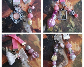 Pretty In Pink Bookmarks