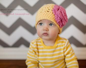 baby girl hat, girls hat, baby girl hat, crochetkids hat, crochet kids hat, newborn girl hat,  baby girl winter hat, girls winter hat
