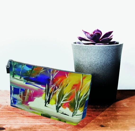 Women's purse, printed clutch, zipper clutch, colourful clutch, clutch, Bridesmaid clutch, Winter Print, pink clutch, ladies purse