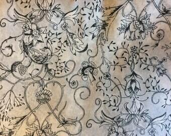 Fabric pattern Wild at heart, liberty of London