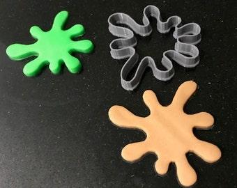 Slime Splat Blob Splash Cookie Cutter   Play Doh   Cake Decoration   Cheap Slime  - UK SELLER