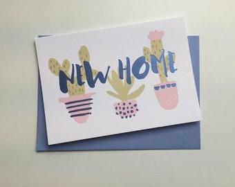 New Home Purple Foil Card