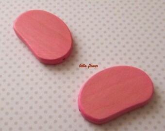 Pearl Pink faded 5x3cm