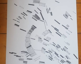 Art print drawing