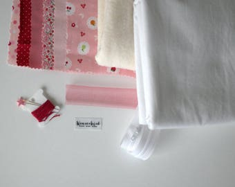 DIY set 'pillowcover sweetheart'
