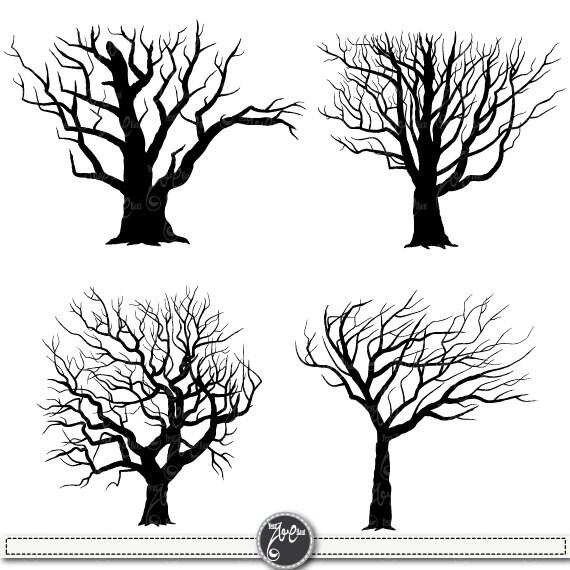 tree silhouettes clipart tree silhouettes clip art rh etsy com tree silhouette clip art free tree silhouette clip art public domain