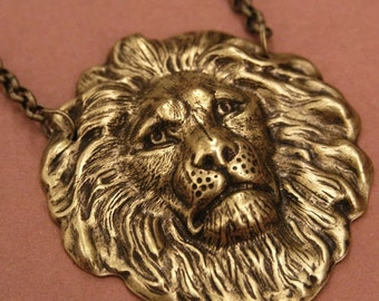 Chained Lion Necklace