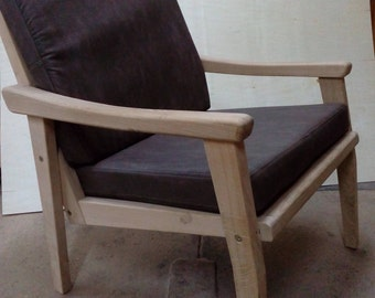 Armchair (eco furniture)