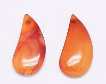 beautiful carnelian Teardrop shape pendant