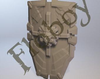 Brigitte Shield 3D file