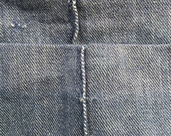 1970's denim bell bottom jeans by Time and Place