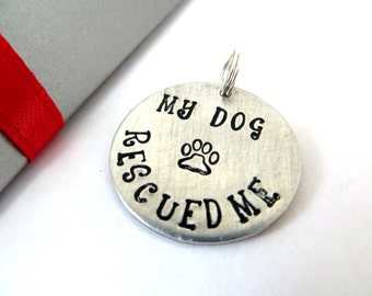 Custom stamped charm only, gift box included