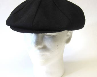 Black Beret Cap Newsboy Hat