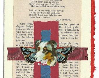 Pet Sympathy Card Dog Good Comrade