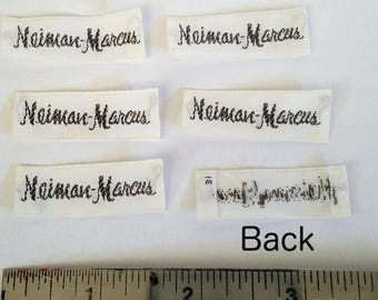 Free Shipping! 6 Vintage Neiman Marcus labels