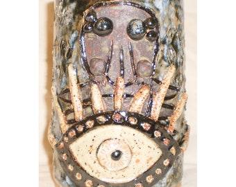 Eyelash Mite Tiki Mug