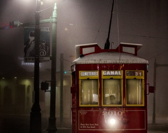 New Orleans Trolley - NOLA Travel Photography