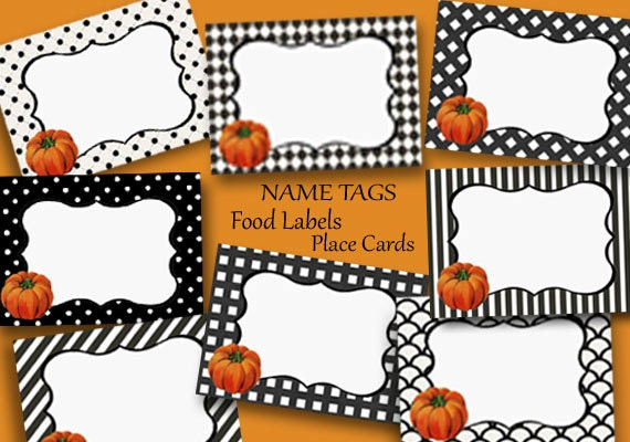 Wild image pertaining to printable thanksgiving name cards