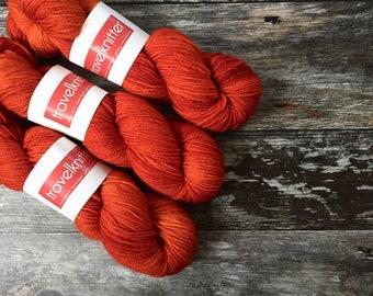 BFL DK hand dyed yarn - Uluru