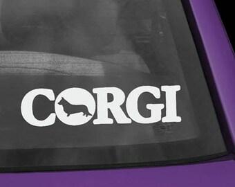 Cardigan Welsh Corgi in Corgi Decal