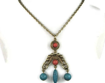 Ethnic Pendant Necklace