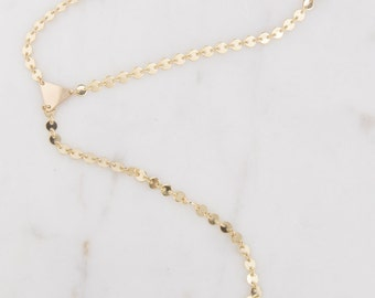 Y Lariat Gold Triangle Multi Coin Necklace, Coin Disk Lariat Necklace, Layering Necklace, Sequin Gold Disk Necklace, Y Lariat Gold Necklace