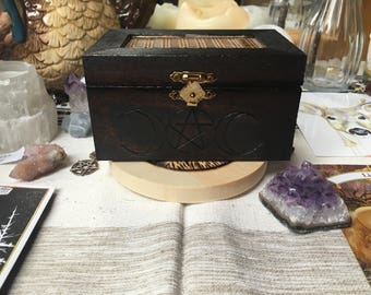 Triple Goddess Apothecary Box