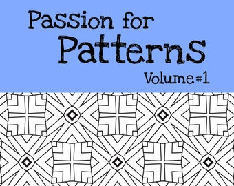 15 Patterns Coloring Pages  (#1)