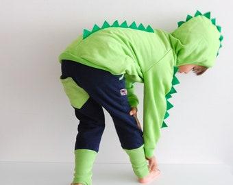 Dinosaur hoodie, dinosaur jumper, dinosaur sweater, hoodie with spikes, dinosaur birthday hoodie, dinosaur sweatshirt, valentine's gifts