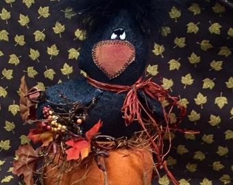 Pumpkin pal crow