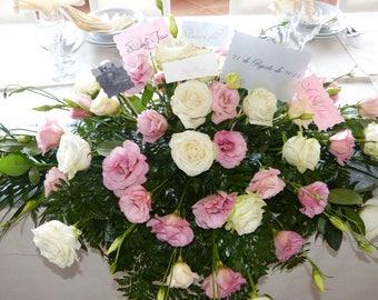 Map wedding table decoration centerpiece
