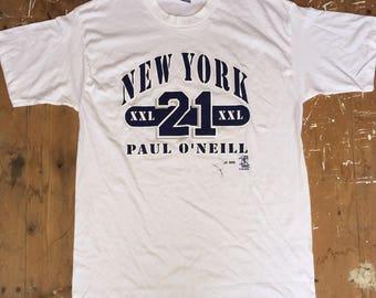 Vintage New York Yankees Paul O'Neill T-Shirt