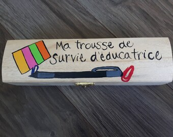 Storage box for teacher / gift / season / Christmas / thanks / decoration