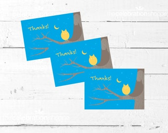 CAMP Birthday Party Printable Thank You NOTES from The Celebration Shoppe
