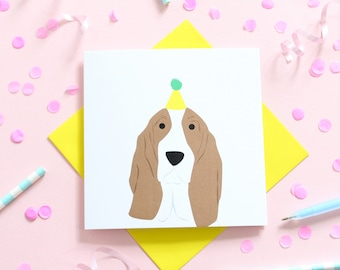 Birthday Bassett Hound
