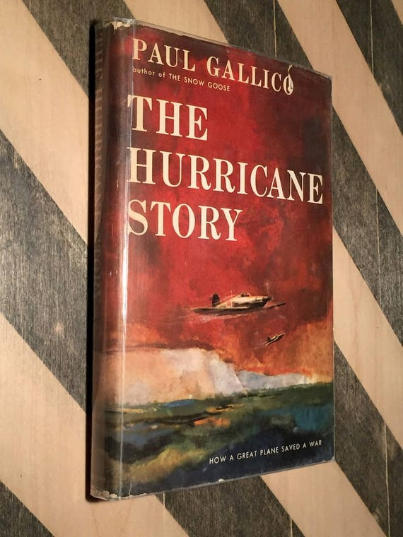 The Hurricane Story by Paul Gallico (1959) first edition book