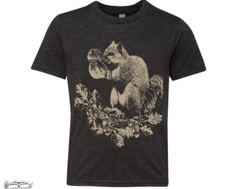 KIDS - Boxing SQUIRREL  Premium vintage soft Tee T-Shirt Fine Jersey T-Shirt (+Colors) - FREE Shipping