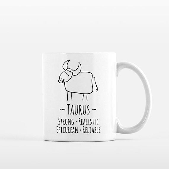Taurus Mug Taurus Gift for Her Taurus Zodiac Gift for Him Zodiac Mug Zodiac Sign Gift Horoscope Gift Astrology Gift Taurus Coffee Mug