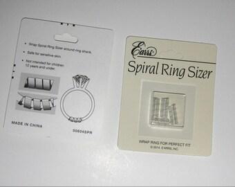 Spiral Wrap Ring Sizer / Ring Size Adjuster / Ring Sizer/ Ring EZ Sizer