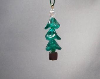 Christmas Tree Ornament - Wavy Beads