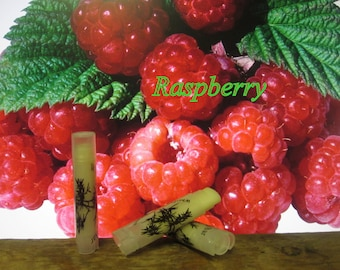 Raspberry Lip Balm  - 31 Luscious Flavors - 100% Natural