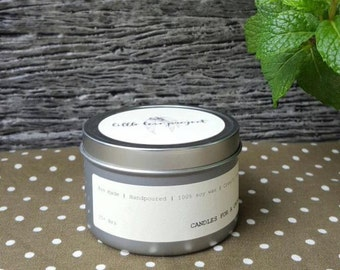 Olive Groves - hand poured soy travel tin candle