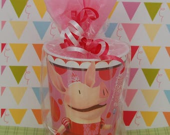 Pre-Filled Birthday Party Favors - Birthday Goodie Bags - Kids Party Supplies - Character Favors - Olivia Pig Theme Party - Loot Bags