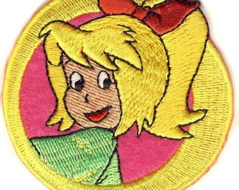 Bibi Blocksberg-head-patches/patch/badge-New #9102-appliqué