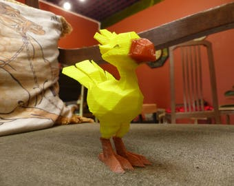 3D printed Chocobo Figure