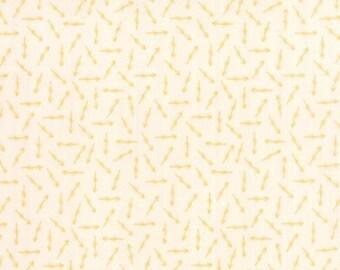 SALE!! 1 Yard Bright Sun by Sherri & Chelsi for Moda (87506-12) Arrow Bisque Golden